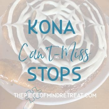 What to do in Kona