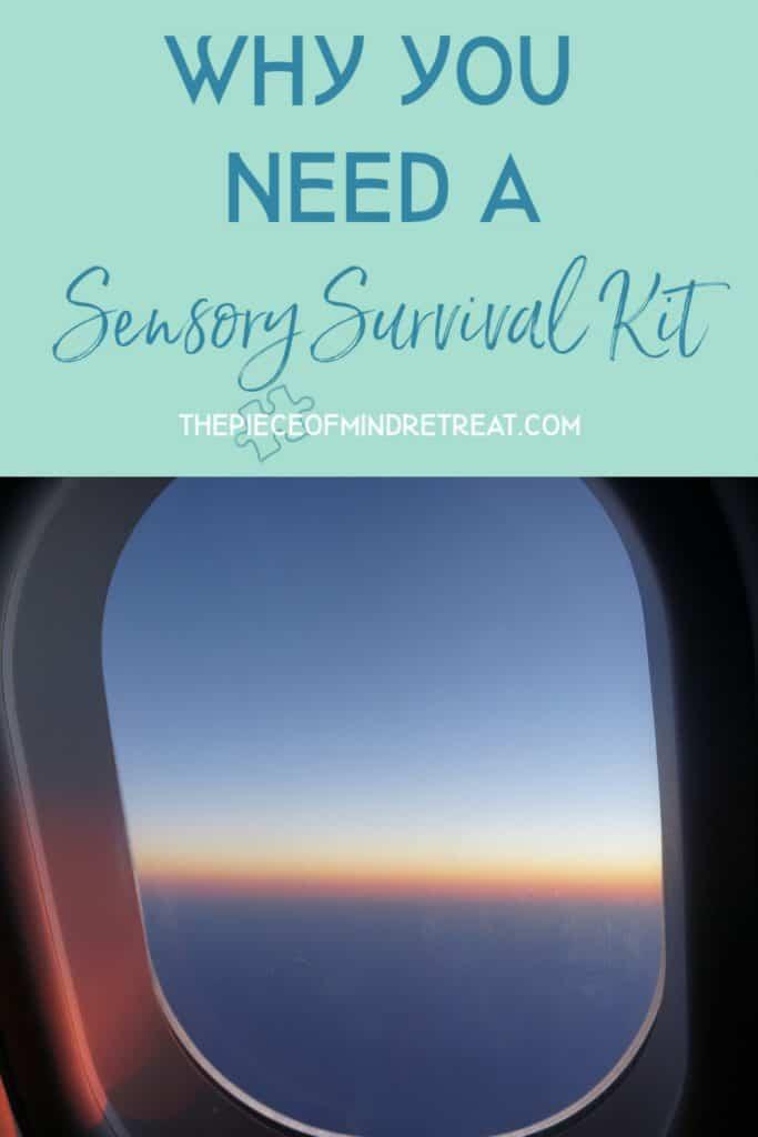 why you need a sensory survival kit