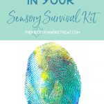what to put in your Sensory Survival Kit