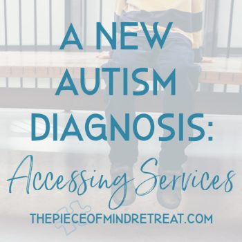 A New Autism Diagnosis: Accessing Services