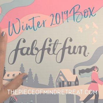 FabFitFun Winter 2019 Box
