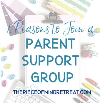 Why You Should Consider Going to a Parent Support Group: Autism Mom Life