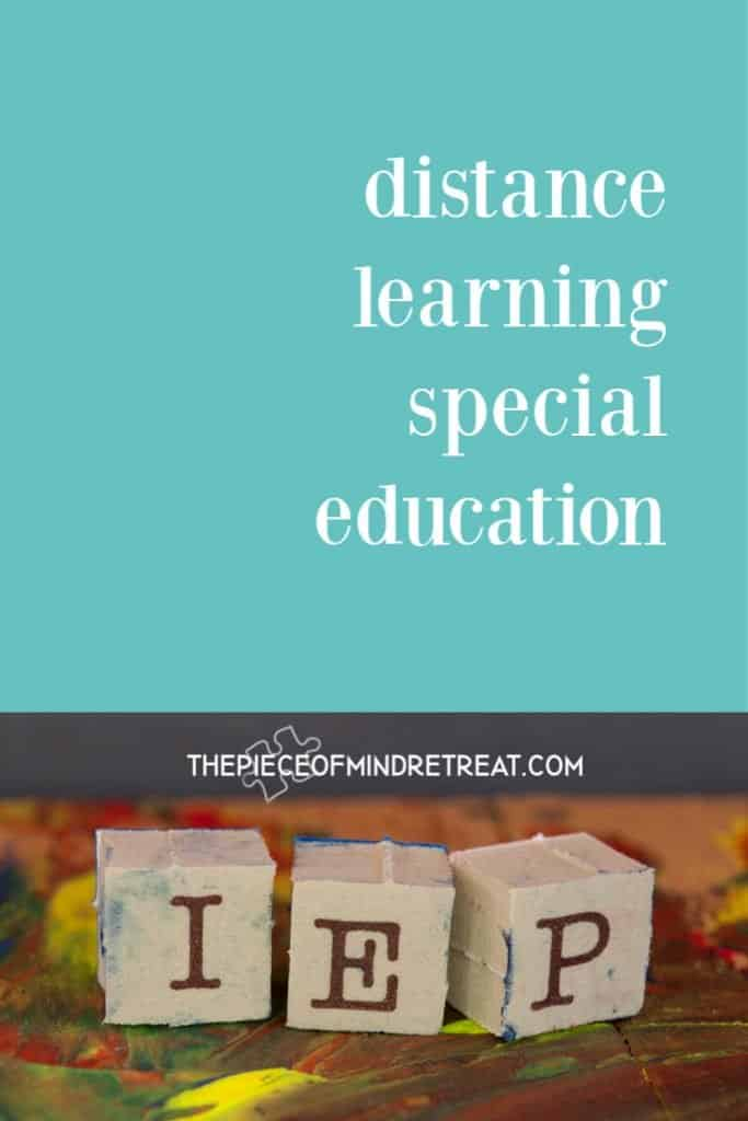 Distance Learning Special Education: 7 Tips to Help You Survive and Thrive During School Closure