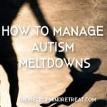 How to Manage Autism Meltdowns: 7 Tips for Managing Extreme Moods
