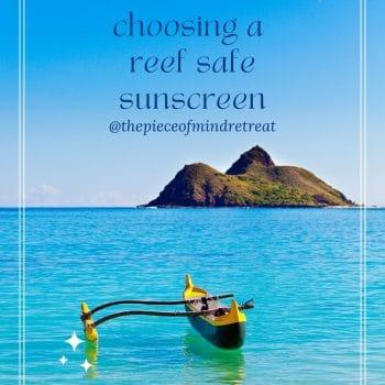Choosing a Reef-Safe Sunscreen
